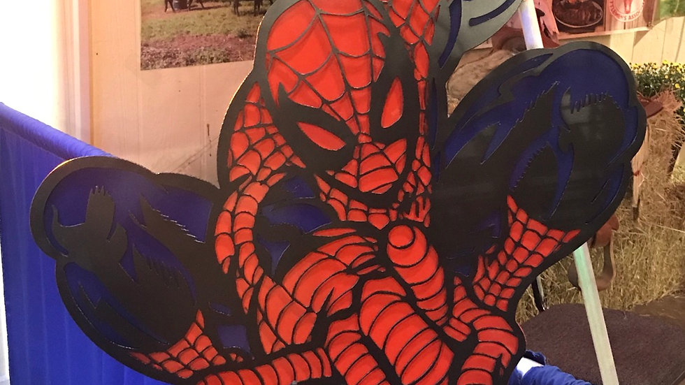 Spiderman wall art