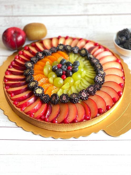 "Fruits tart - Tarte aux fruits 30 cm 12"""