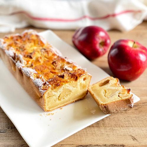 Yogurt apple cake - Gâteau au yahourt (maison) et pommes