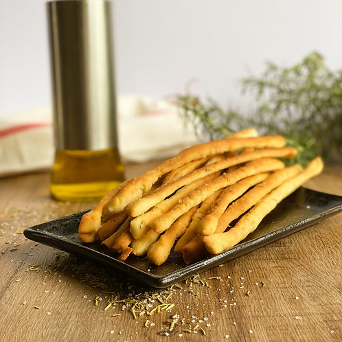Sourdough rosemary olive oil breadsticks - 20 pièces