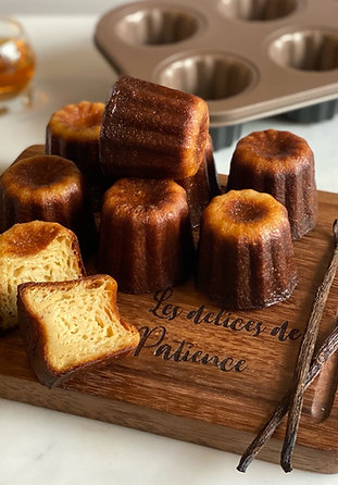 Canelés (cannelés) de Bordeaux - 9 pieces