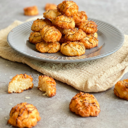 Coconut macaroons - rochers coco - 100 g