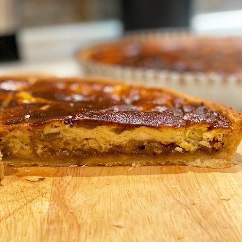 Oinion tart -Tarte à l'oignon