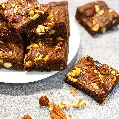 Chocolate & Nuts Brownies