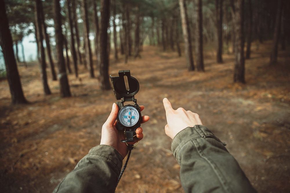 Land Navigation with a Compass