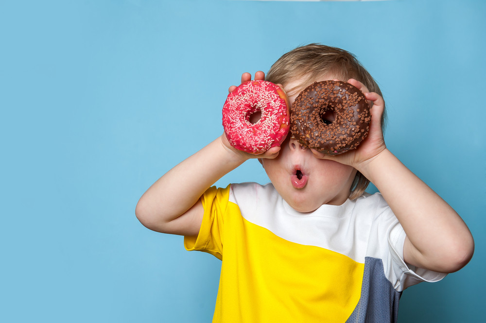 Little One with Donuts - Beal Law Firm