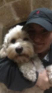 Hilary Kustoff and Puppy IMG_1594.JPG