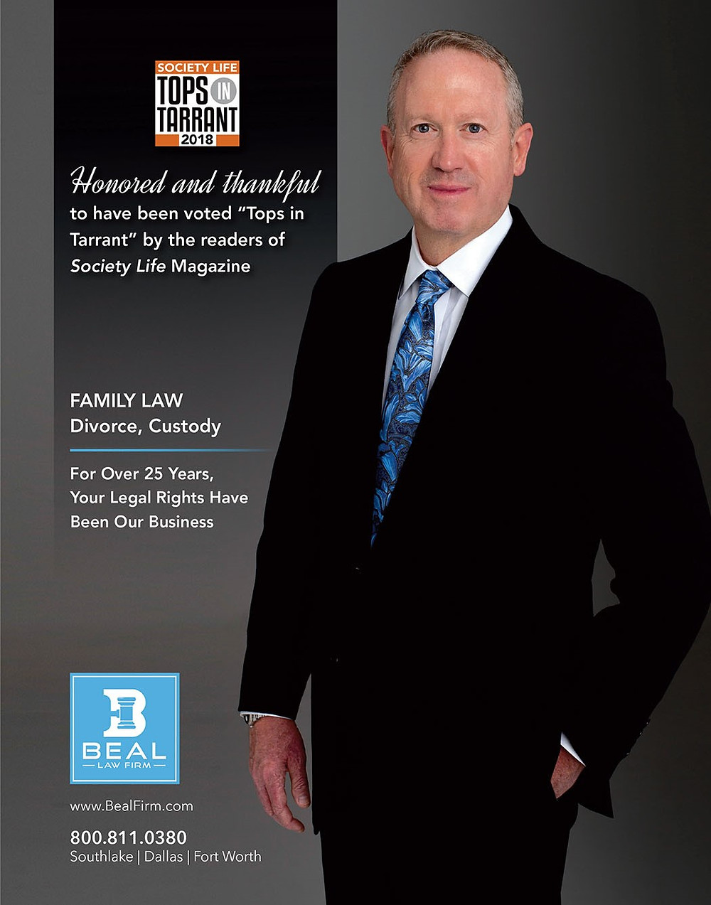Southlake Divorce Lawyer Eric Beal of Beal Law Firm