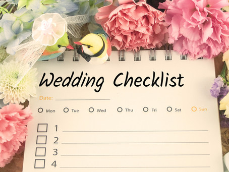 Summer Wedding Coming Up? Now may be the time to learn some Family Law.