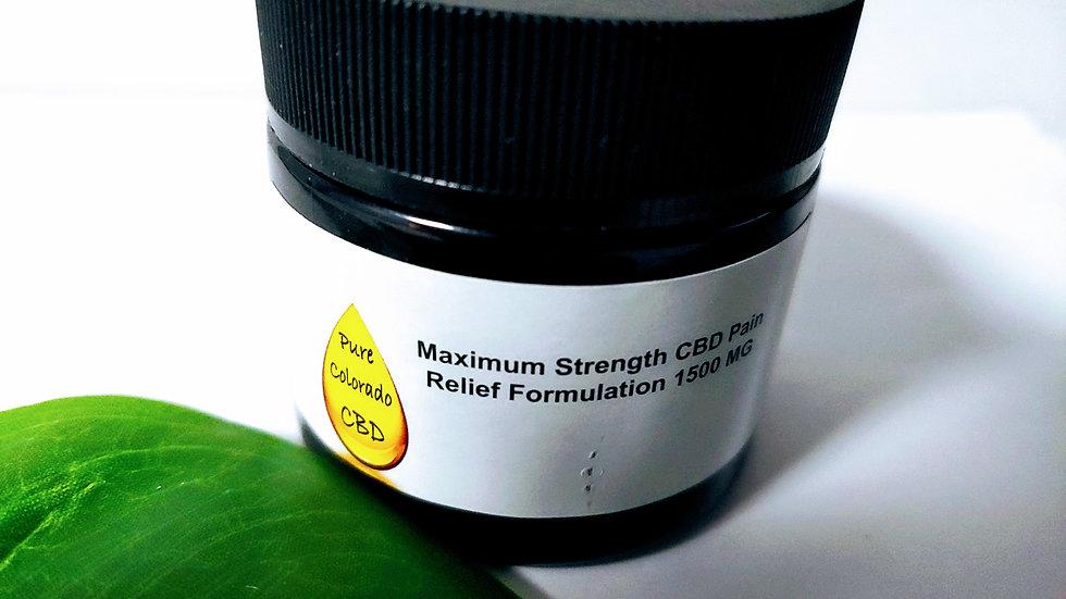 Pure Colorado CBD -1500 mg CBD Pain Cream