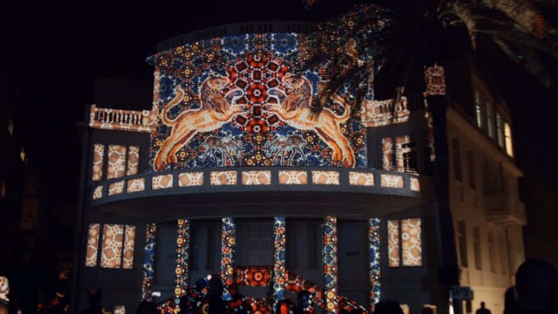 Bialik Sq. Projection Mapping