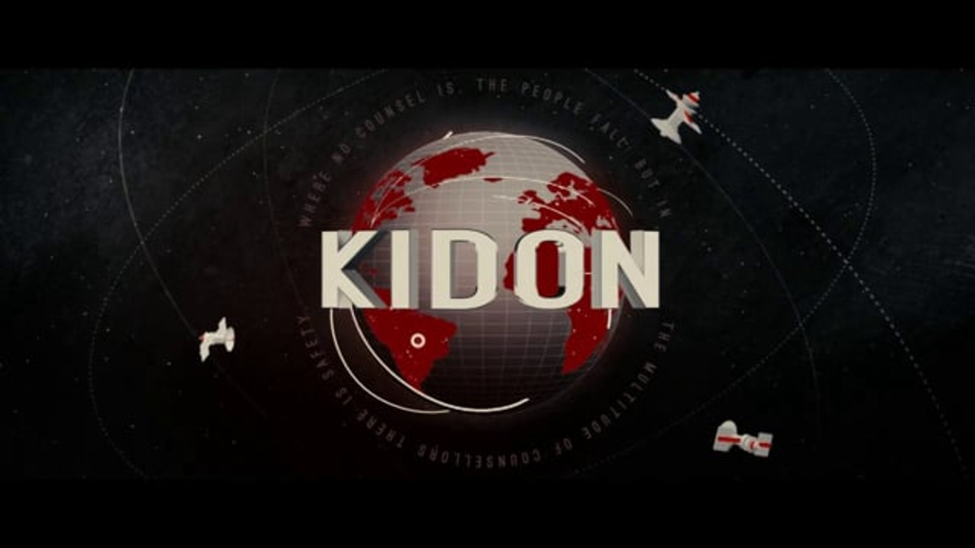 """Kidon"" Title Sequence"