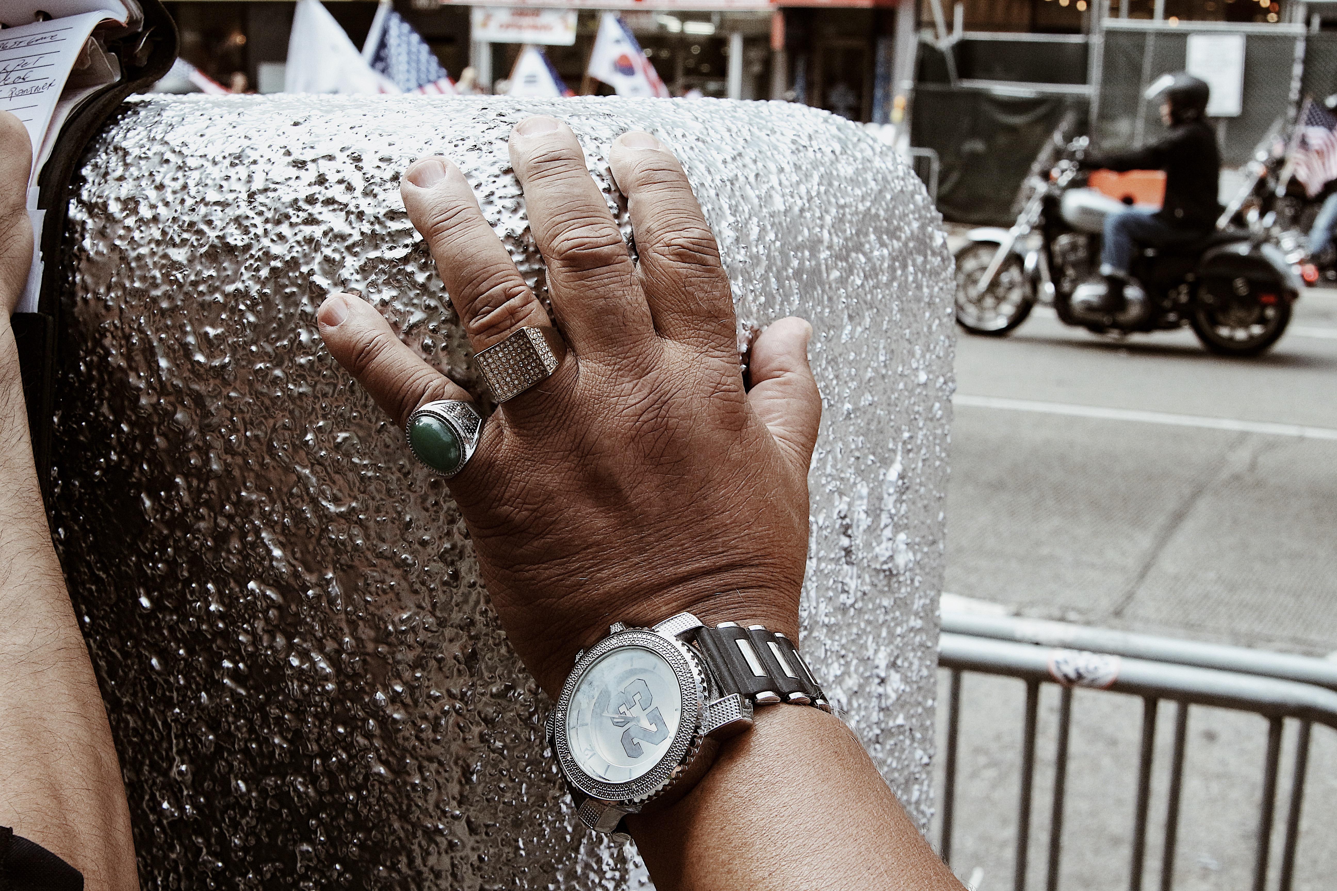 Cop's Hand