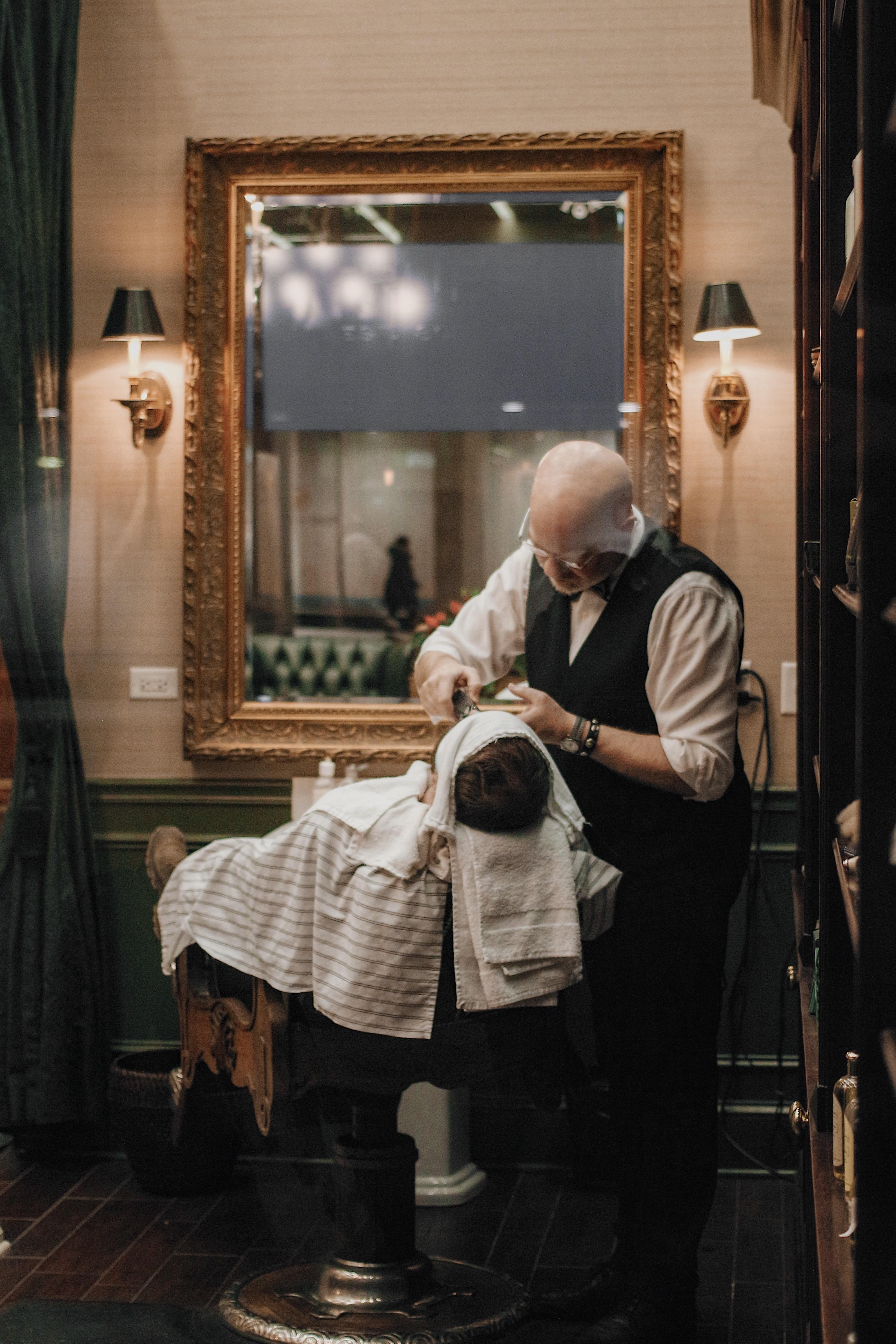 Vulnerable at Barber Shop