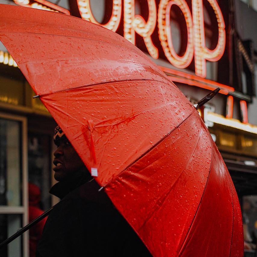 Umbrella Seller