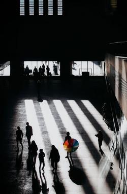 Rainbow in Tate Modern