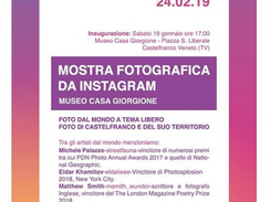 Participant of Instagram Street Photography Exhibit in Museo Casa Giogione, Italy
