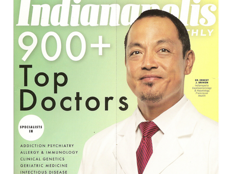 Dr. Michael Sadove Receives Indianapolis Monthly Top Doc 2018