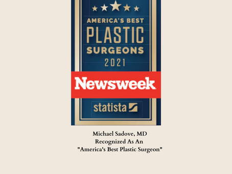 """Dr. Michael Sadove Included In Newsweek's """"America's Best Plastic Surgeons"""" List"""