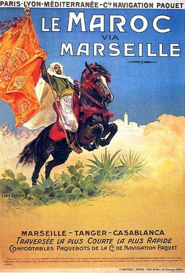 12. Maroc - Via Marseille