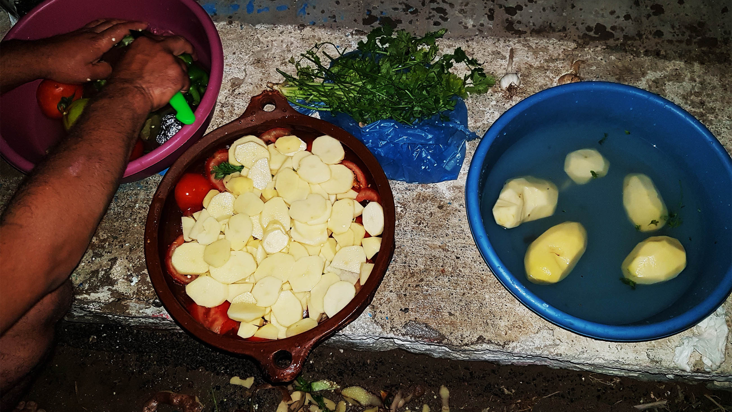 Etape 1 - les légumes