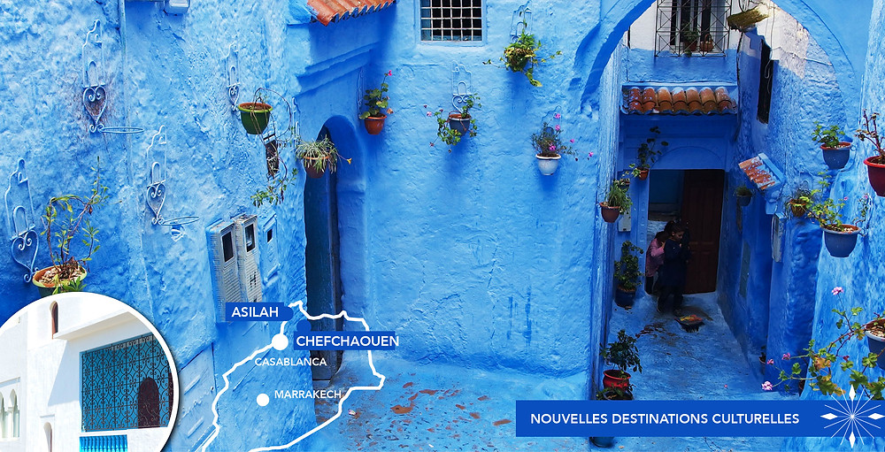 Asilah & Chefchaouen - Voyage Maroc