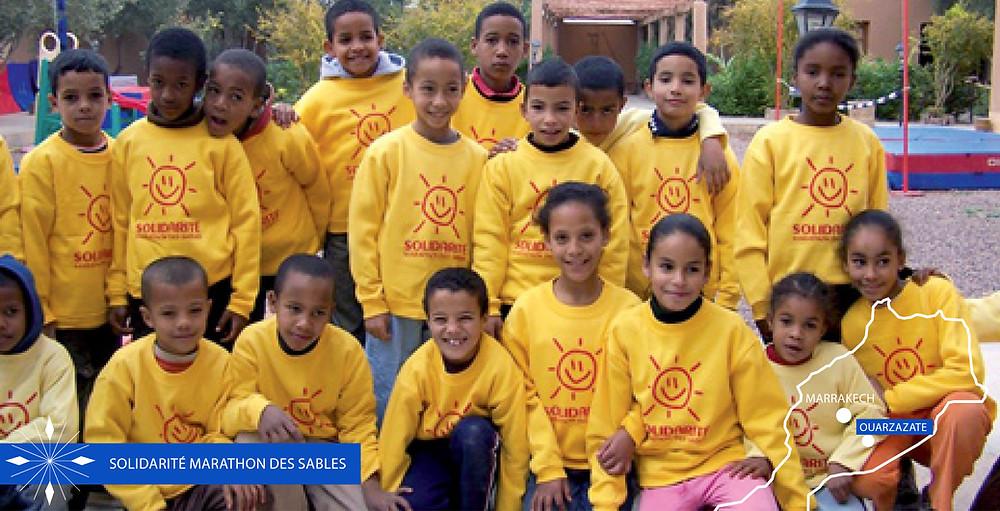 Solidarité Marathon des Sables Maroc