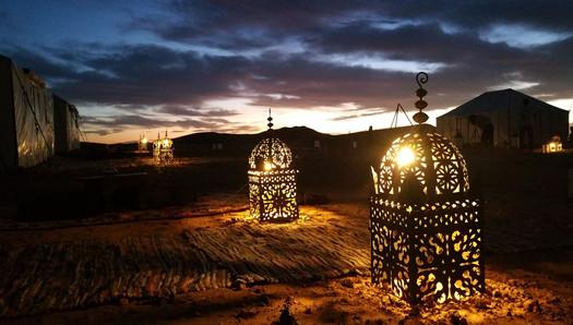 Passez le NOUVEL AN dans le désert !