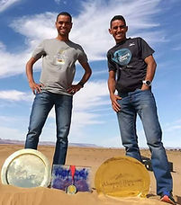 Rachid et Mohamed Elmorabity