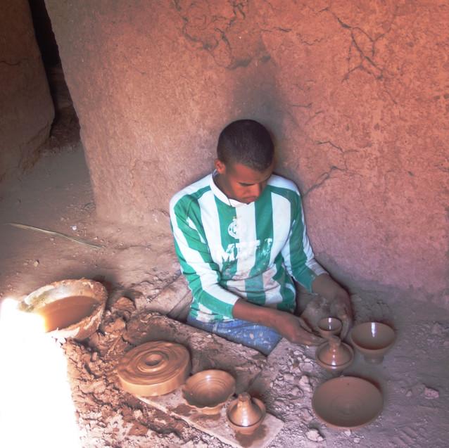 Potier à Tamegroute