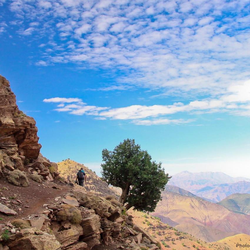 Sentier de randonnée Haut Atlas