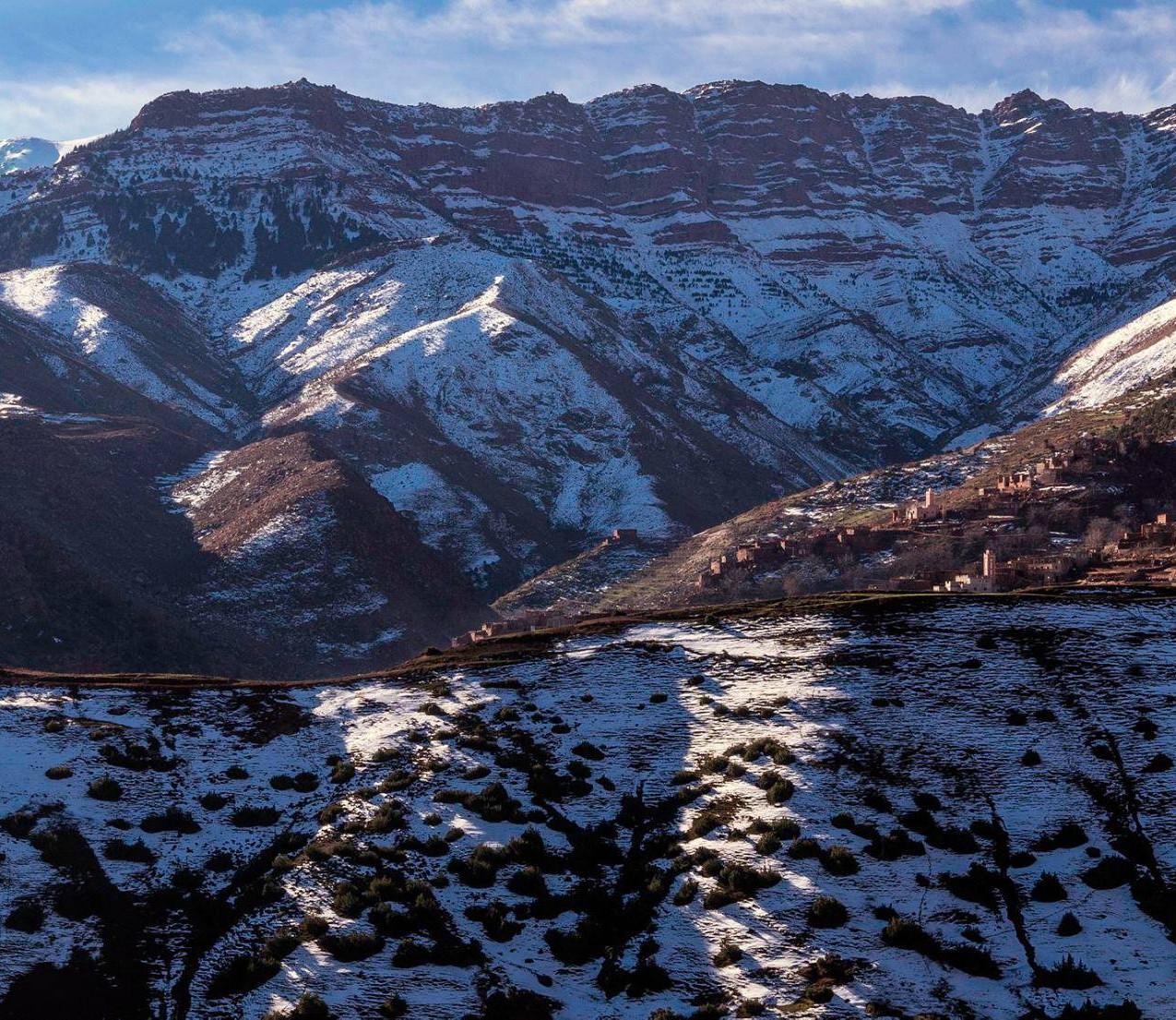 Zaouiat Ahansal en hiver
