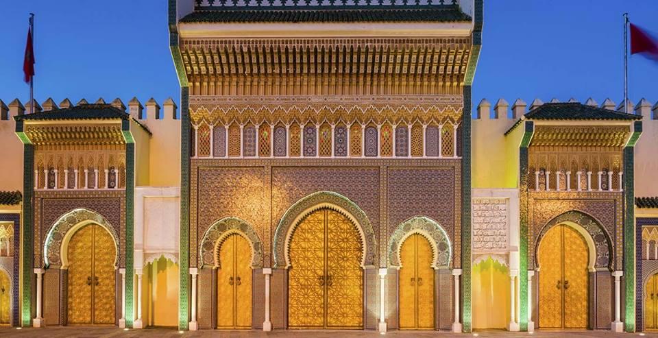 Fès, palais royal
