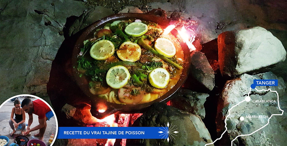 Tajine de poisson - Voyage Maroc