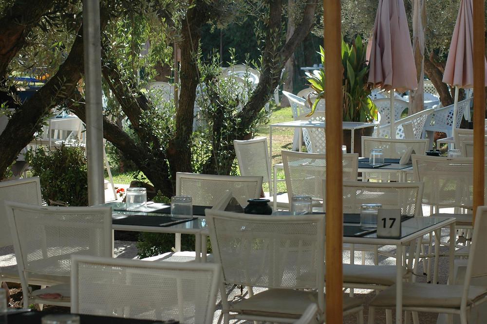 Restaurant Bladna - le jardin - photo Bladna Café