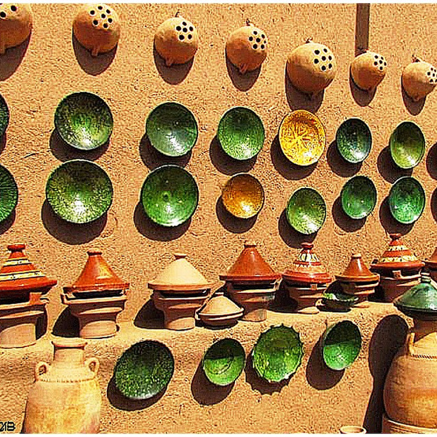 Poterie Tamegroute MarocB