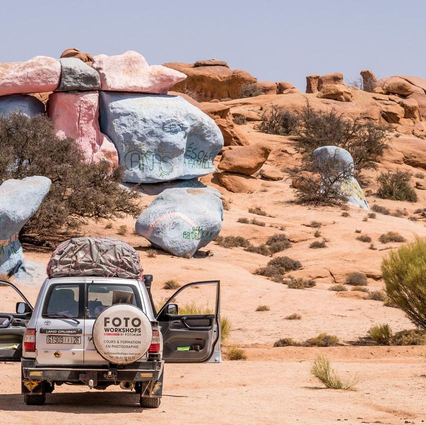 Les rochers peints de Tafraout