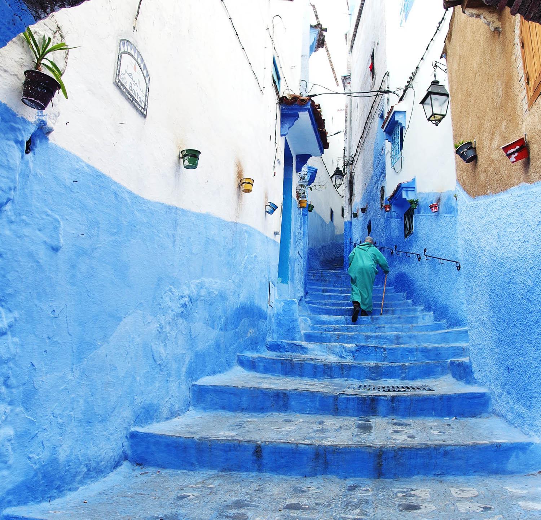 Médina bleue