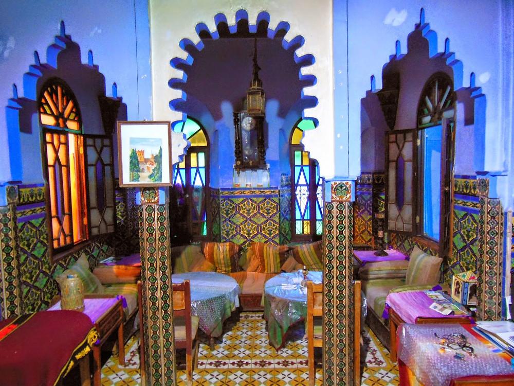 Restaurant marocain - Chefchaouen