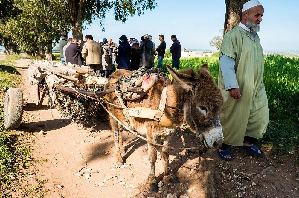 La vie quotidienne au Maroc
