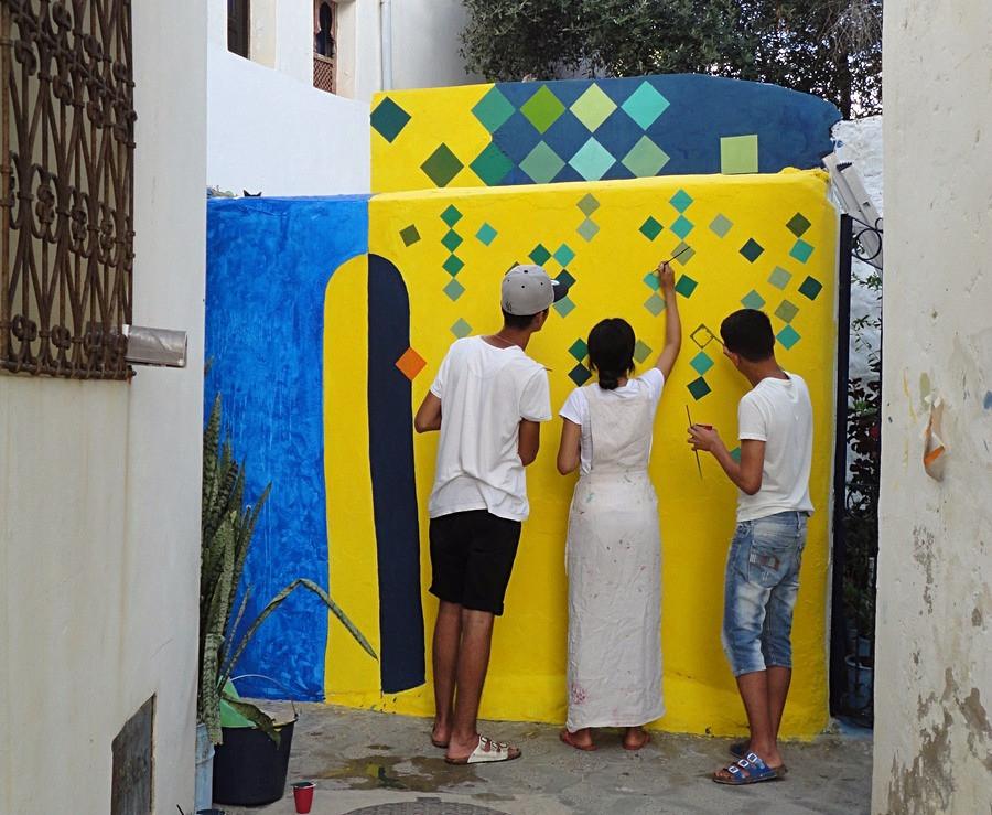 Fresques - Asilah - Maroc