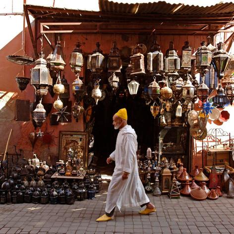 Marrakech et son souk