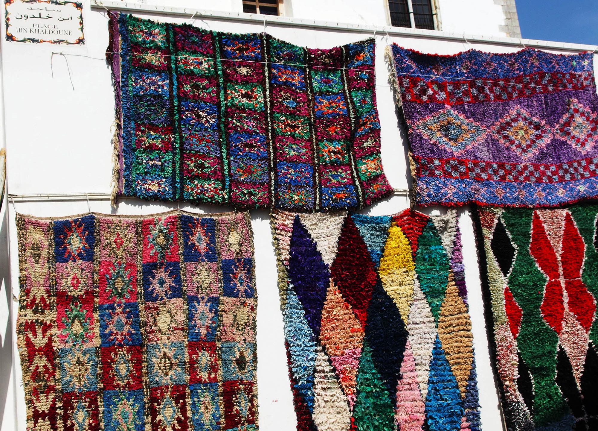 Les tapis berbères