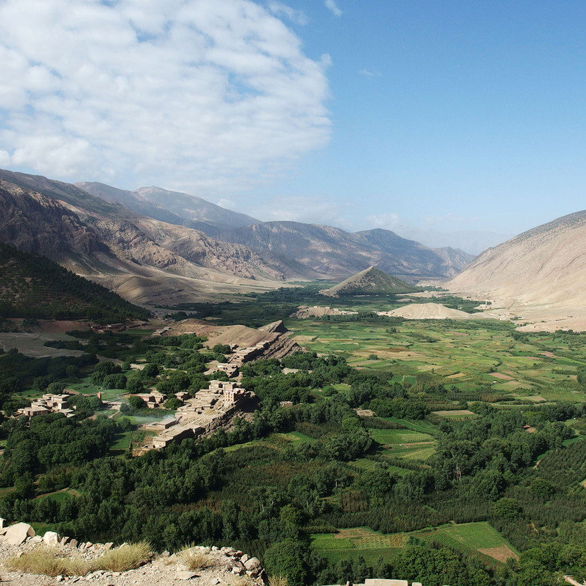 Vallée de l'Atlas
