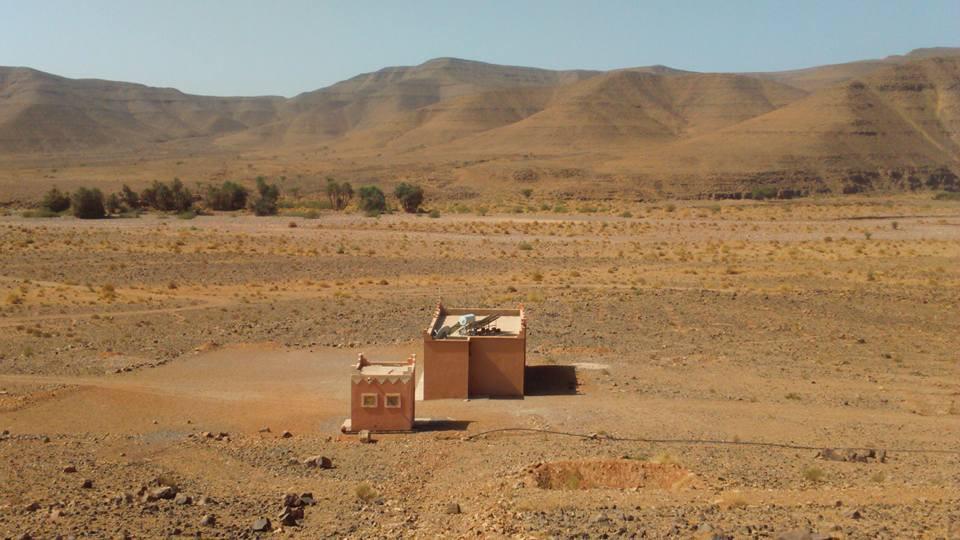 Une école seule dans les montagnes du Maroc !