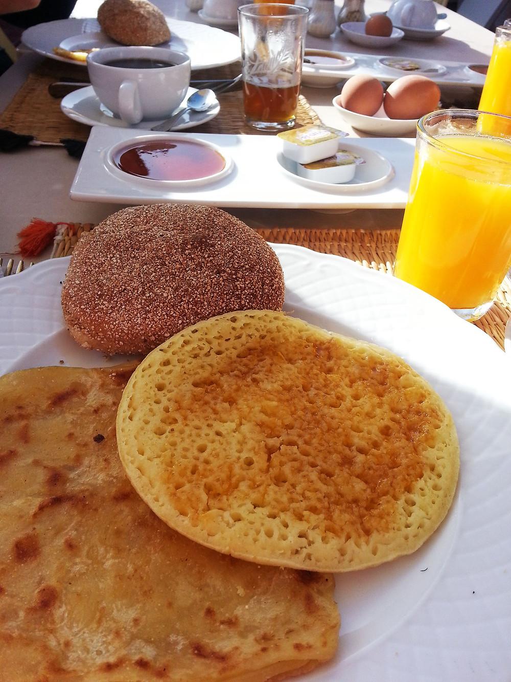 Petit déjeuner made in Maroc