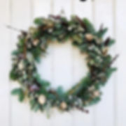 How GORGEOUS is this wreath from one of