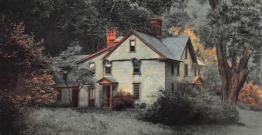 منزل لويزا ماي ألكوت