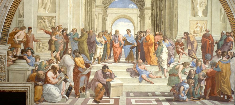 The School of Athens Fresco by Raphael