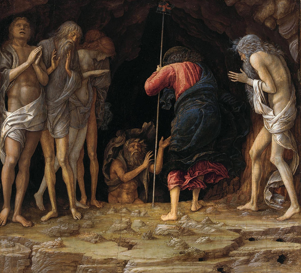 Christ's Descent into Limbo by Andrea Mantegna and studio, c. 1470.